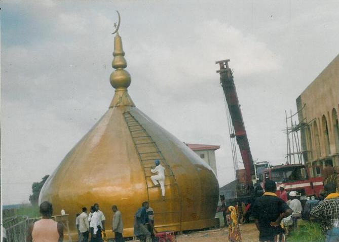 Fibreglass Dome